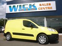 2010 Peugeot PARTNER HDI SE L1 625 VAN *YELLOW* Manual Small Van