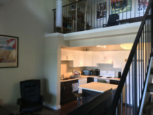 TOP FLOOR LOFT 1 BEDROOM APARTMENT LEASE TAKEOVER AUG 1