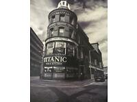 Large Canvas Belfast Print Perfect Condition