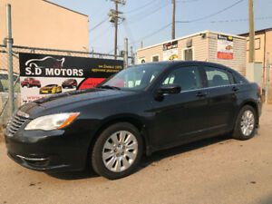 2013 CHRYSLER 200 LX ONLY137477 KMS TOUCH SCREEN REMOTE START