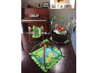 Fisher Price Rainforest trio- including Jumperoo