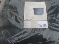BLOOMA MEDIUM GARDEN TABLE AND CHAIRS COVER - ROUND - NEVER USED