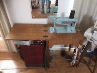 Semi industrial singer sewing machine