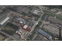 £400 TO LET COMMERCIAL LAND / CAR PARKING YARD / CONTAINER YARD - PINXTON, NOTTINGHAM, NG16 6NS