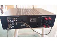 Sony TA-F270 amplifier, used. High power, very nice sound.