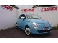 2015 64 FIAT 500 COLOUR THERAPY BABY.BLUE FULL FIAT S/HISTORY. £30 ROAD TAX .