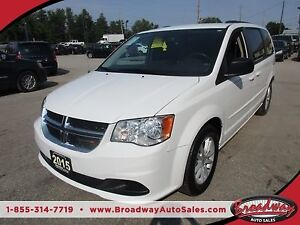 2015 Dodge Grand Caravan FAMILY MOVING SXT MODEL 7 PASSENGER 3.6