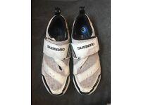 Mens Triathlon cycling shoes - size 8