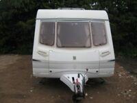 abbey aventura 330 caravan 2004 6 birth with full awning