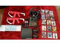 PS3 Slim 128GB ultimate bundle
