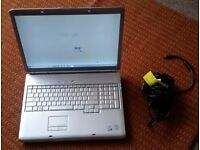 """DELL INSPIRON 1720 with 17"""" SCREEN in GOOD COND Large Laptop"""