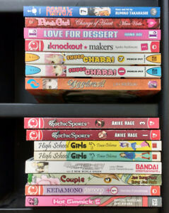 Manga & Novels $2 Each
