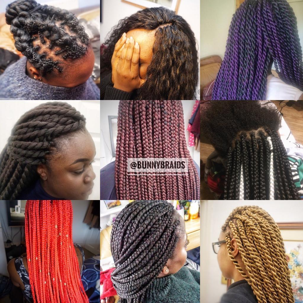 Afro European Hairdresser Box Braids Senegalese