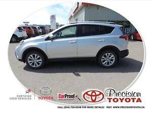 2014 Toyota RAV4 Limited One Owner, Leather, Navi, Heated Sea...