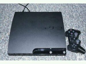 PS3 Slim System With 120 GB Hard Drive And 2 Games