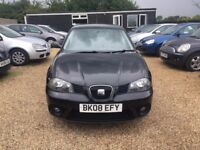 SEAT IBIZA 1.2 12v 5DR 2008 * IDEAL FIRST CAR * CHEAP INSURANCE * FULL SERVICE HISTORY * HPI CLEAR