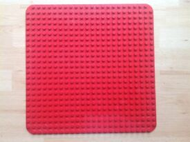 Lego duplo red base plate