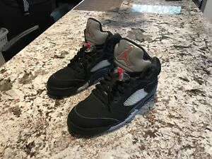 Air Jordan 5 Metallic Black 2016
