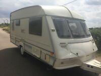 2 Birth Abi Dalesman Lightweight Touring Caravan, comes with all you could need for your holidays