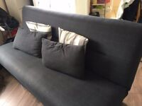 Ottoman Double Sofa Bed with plenty of storage underneath