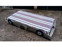CHILDS CAR SHAPED BED WITH MATTRESS FREE LOCAL DELIVERY