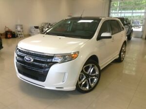 2013 Ford Edge Sport, 4X4, CUIR, TOIT, BLUETOOTH, A/C