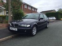 2002 facelift bmw e46 320i.......300quid spare or repair ...07851277749