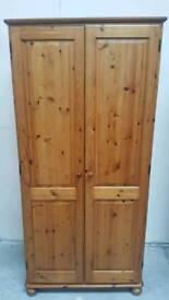 Pine wardrobe can deliver 07808222995