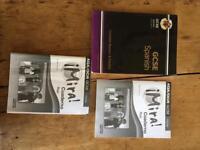 GCSE Spanish books.