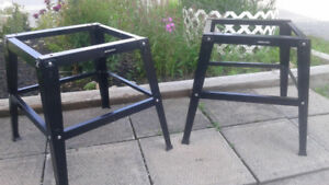 Saw Horses Stands Benches - Mastercraft 18x18.75 & 24x24