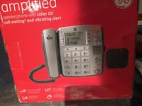 Amplified phone for old person