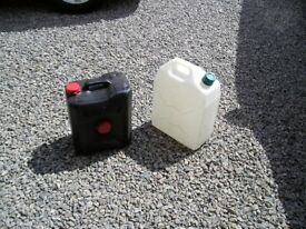WATER & WASTE CONTAINERS