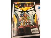 X-men comic exiles
