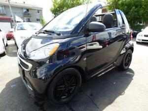 2015 SMART FORTWO PASSION CABRIOLET (TOIT PANO, NAVI, BLUETOOTH)