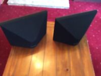 2 MISSION FRONT SPEAKERS.