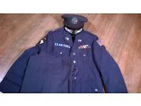 USAF Uniform (jacket/trousers/hat)