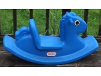 Rocking horse see-saw