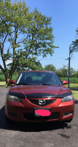 2009 Mazda3 GS Sedan, low kms