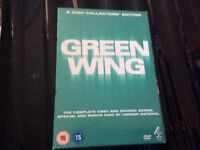 Green wing the complete first&second series