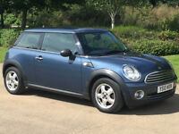 2010 MINI - ONE 1.6 - 1 YEAR MOT - JUST BEEN SERVICED - UPGRADED PEPPER PACK