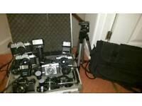 Large Film Camera Bundle SWAPS ONO