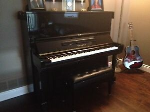 "Yamaha Piano, U3, 52"" Upright"