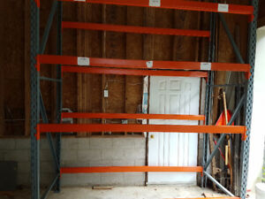 "Shelving heavy duty/ shop storage 42"" x 12'"