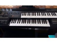 Yamaha HC2 Organ keyboard