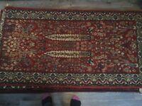 Wilton Persian rug in British wool