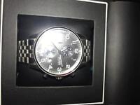 Hugo Boss Mens Stainless Steel Chronograph watch