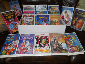 Disney Classic VCR Movies