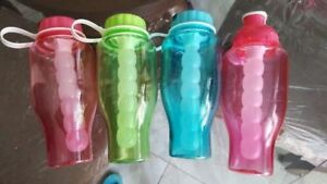 Water Bottle with Freeze tube 950 ML Red Blue Green BRAND NEW