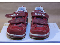 GEOX SHOES FOR BOY RED SIZE 11