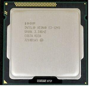 Intel Xeon E3-1245 3.3GHz Quad-Core SR00L CPU socket 1155